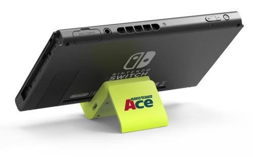 【朗報】限定デザインの「Nintendo Switch 充電スタンド」が『マリオテニス エース』発売前先行オンライン大会の賞品として抽選で100名にプレゼント!