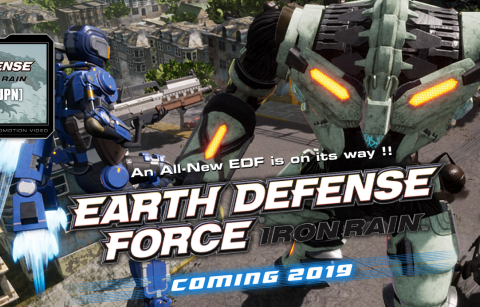 PS4「EARTH DEFENCE FORCE: IRON RAIN」 注目の地球防衛軍シリーズ完全新作、3ndトレーラーが公開!