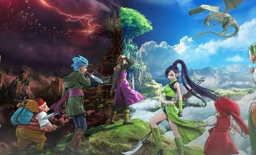 海外版「ドラゴンクエスト11」E3 2018プレイ映像が公開!