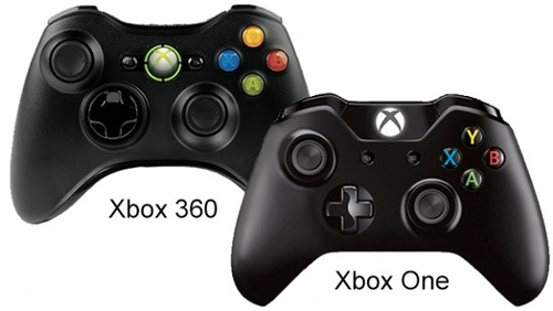 Xbox-One-vs-Xbox-360-controllers-1
