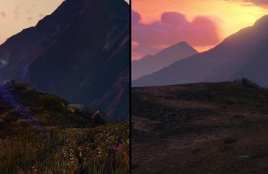 PS4版「GTA V」は何らかの独占コンテンツあり!? PS3版とのトレーラー完璧比較ムービーもあり! 草生えてるwww