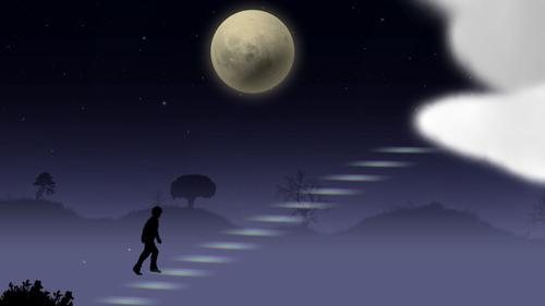 Switch「ブルームーン」配信開始!月夜の散歩を楽しむ雰囲気たっぷりのアドベンチャー、価格は498円(税込)