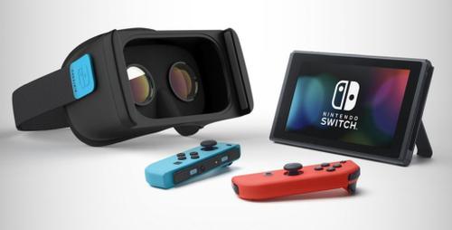 【衝撃リーク】Nintendo SwitchがVR対応、今年初頭に発表!?