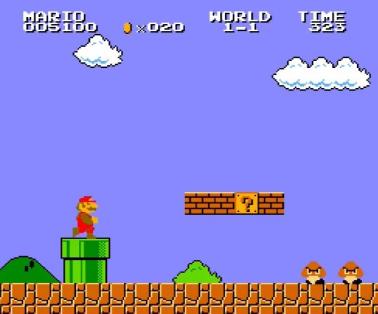 生まれて初めて遊んだマリオのゲーム