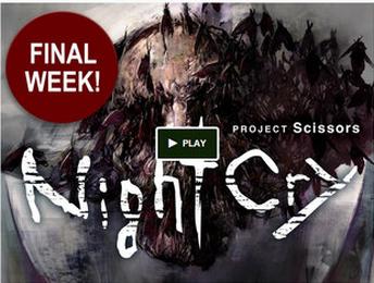 新作ホラー「ナイトクライ(NightCry)」 クラウドファンディングが国内外で目標達成!PC版リリース決定&日本語ボイス対応で提供!!