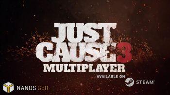 「ジャストコーズ3」 100人規模のプレイを実現するマルチプレイヤーMODが配信、ローンチトレーラーも