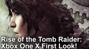 「ライズ オブ トゥームレイダー」 PS4 Pro / XboxOneX版比較映像が公開!