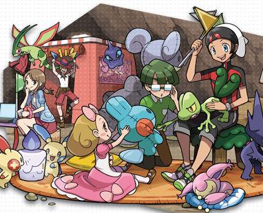3DS「ポケモン オメガルビー/アルファサファイア」 つながるワクワク!「スーパーひみつきち」要素登場!