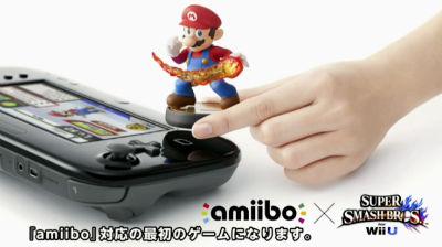 Wii Uゲームパッドにかざして使うフィギュアデバイス「amiibo」発表!! スマブラWii U版でさっそく導入! マリオカート8など続々対応
