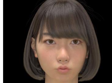 """【動画】これ生きてるだろwwwwww 3DCG女子高生""""Saya""""の表情が豊かすぎる!!"""