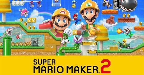 【朗報】Switch「スーパーマリオメーカー 2」また色々できることが増えてて今作も大ヒットの予感!!