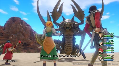 【画像】PS4「ドラゴンクエスト11」の実機解像度の美麗なスクリーンショット公開! 3DSと格の違いを見せつける