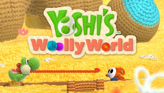 毛糸のヨッシー、正式タイトルは「ヨッシーウールワールド」に確定か