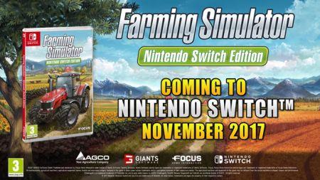 スイッチ版「Farming Simulator」 発売決定でどこでも農業可能にwww!トレイラー公開