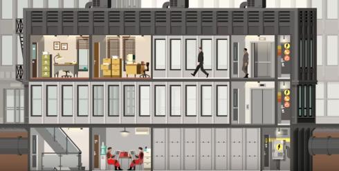高層ビル建築運営シミュレーションゲーム『Project Highrise』、Switch、PS4、XB1で2018秋に発売決定! 「ザ・タワーみたい」