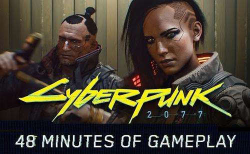 【衝撃】「サイバーパンク2077」のゲームプレイ映像がついに解禁!SF未来の世界観が圧倒的すぎるwwww