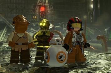 「レゴ スター・ウォーズ/フォースの覚醒」 200人以上のプレイキャラを紹介する豪華映像!