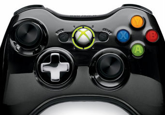 めっちゃテカテカ! 「Xbox 360 ワイヤレス コントローラー SE (クローム ブラック)」 アマゾン限定発売!