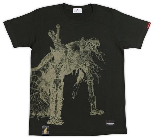 【物欲】『ダークソウル』モチーフの超カッコいいTシャツが登場!全4種類、これは欲しい!!