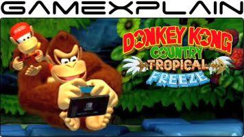 Switch版「ドンキーコング トロピカルフリーズ」ディディー&ディクシー&クランキーコングの放置アニメーションが公開!