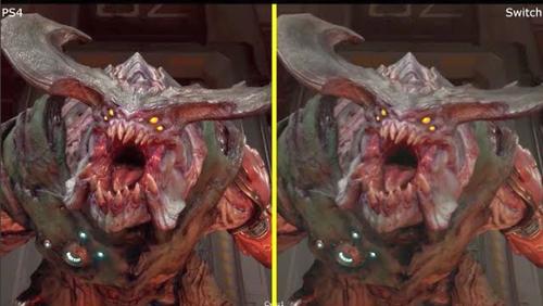 【朗報】「DOOM」 スイッチ/PS4版 比較映像が公開!殆ど差がない神移植確認!!