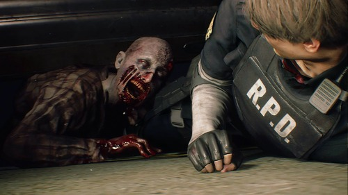 【画像】「バイオハザード2 RE」の敵、かなり怖い 「怖すぎて無理」のファンも