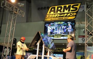 【悲報】「ARMS」大会、大盛況の中Switch本体がオーバーヒート!→会場は冷える