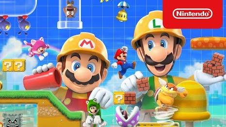 Switch「スーパーマリオメーカー2」公式紹介映像 & TVCMが公開!6/28発売