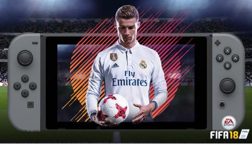 「FIFA 18」 ニンテンドースイッチ版 実機プレイ映像が公開!