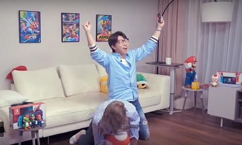 【動画】韓国版『Nintendo Switch』CMがうるさいw
