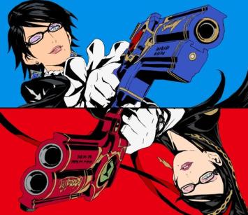 プラチナゲームズ国内公式ツイッター開設!赤青カラーの『ベヨネッタ』イラスト公開、スイッチ向け移植・新作くるっ!?