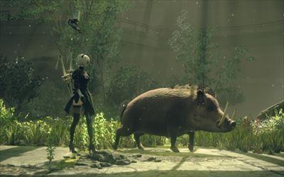 PS4「NieR:Automata」が「ベヨネッタ」っぽくて面白そう