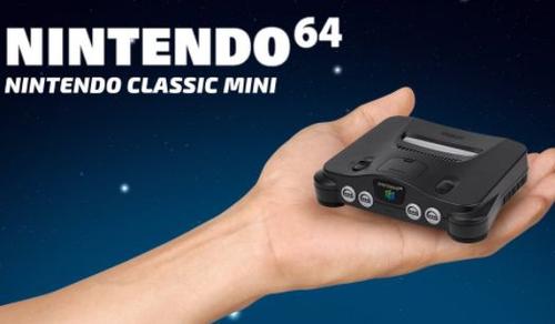 任天堂、ニンテンドー64の特許を日本で提出 クラシックミニ64か?