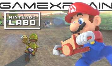 バイクToy-Con に対応した「マリオカート8 DX」Toy-Conプレイムービーが到着!