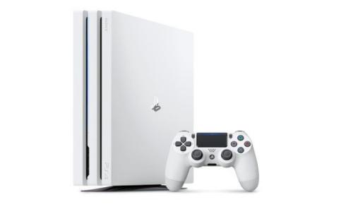 """【数量限定】PS4RPro 「グレイシャー・ホワイト」 """"ワイヤレスサラウンドヘッドセット"""" Amazon予約開始"""