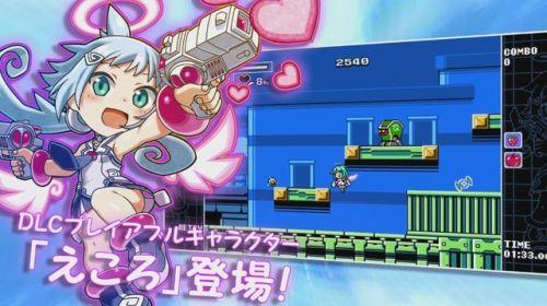 3DS/スイッチ 「マイティガンヴォルト バースト」に新DLC『えころ』が登場!期間限定で無料配信!!