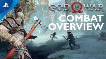 PS4「ゴッド・オブ・ウォー」 さらに激しくなった戦闘アクションを紹介する海外版プレイ映像が公開!!