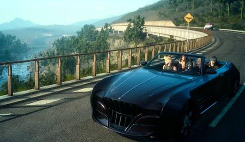 【衝撃】凄いことに気づいた! 和ゲーは「車で移動するゲーム」がFF15以外1本もない