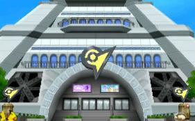 WiiU/3DS「大乱闘スマッシュブラザーズ」 ミアレシティのプリズムタワーがステージで登場! 強制スクロールタイプ