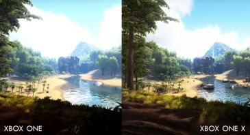 「ARK: Survival Evolved」 XboxOne vs XboxOneX 比較映像が公開!