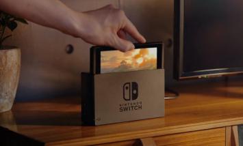 Switchに横置きドックあっても良くね?テレビ横で存在感ありすぎるんだが
