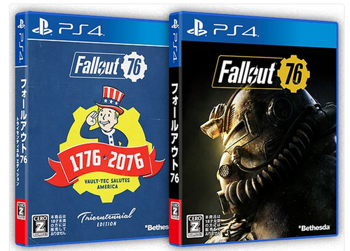 「Fallout 76」、PS4版の日本発売決定!11/15リリース!!