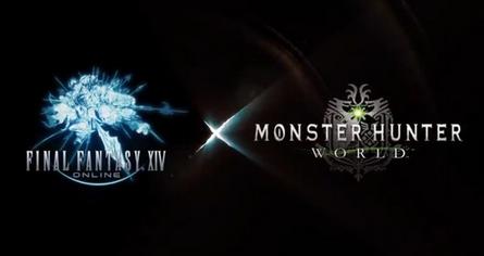 【速報】「モンスターハンターワールド」と「FF14」夢のコラボが実現!!