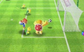 3DS「マリオスポーツ スーパースターズ」 『サッカー』『ベースボール』など5競技を収録、ネットで世界中のプレイヤーと対戦!!