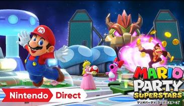 【速報】Switch「マリオパーティ スーパースターズ」10/29発売決定!歴代『マリオパーティ』シリーズのミニゲーム100種類を収録