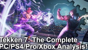 PS4「鉄拳7」 パフォーマンス比較動画が公開!