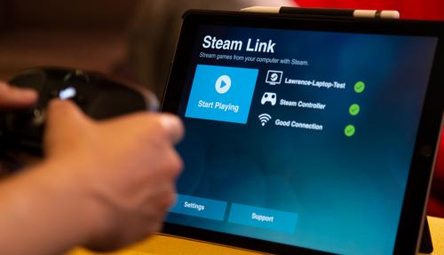 【驚愕】iPhoneでSteamのゲームが遅延なしで遊べるアプリ『Steam Link』が登場!
