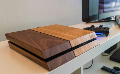 これはいい! 100%木製のPS4カバーが海外で登場、お値段2万円ナリ