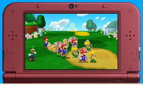 3DS「マリオ&ルイージRPG ペーパーマリオMIX」 年内発売決定!