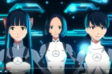 Perfumeがエヴァの貞本義行デザインで3Dアニメに これって本体はもういらないんじゃ・・・